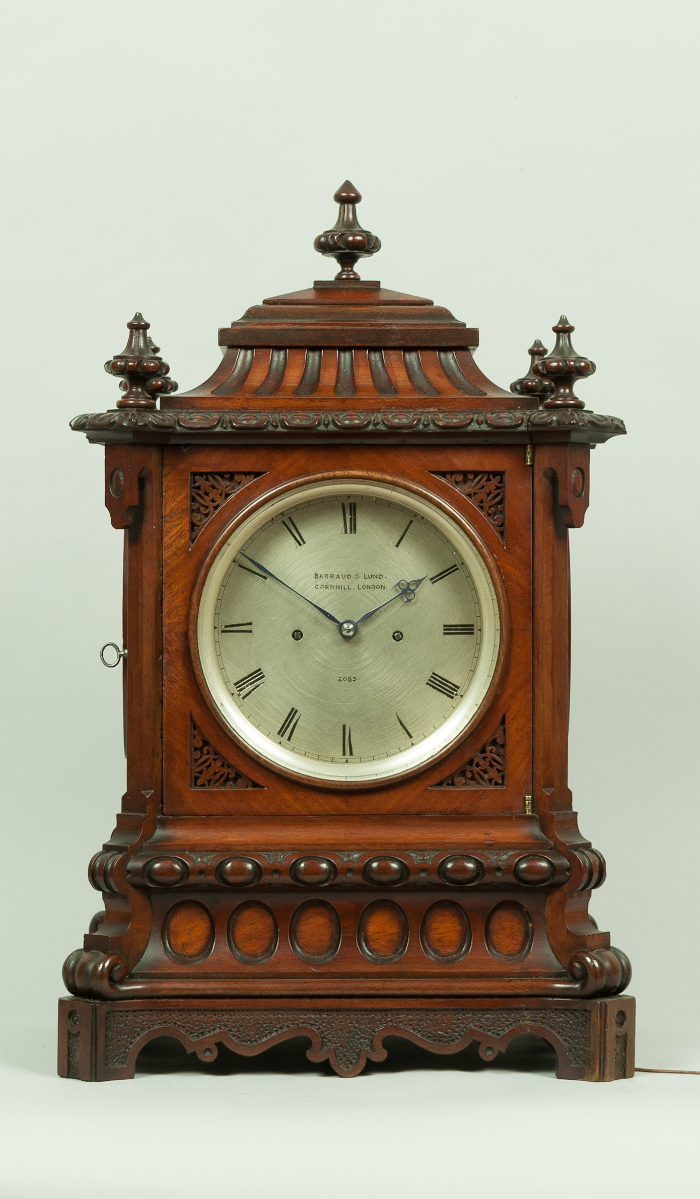 Barraud And Lund Bracket Clock