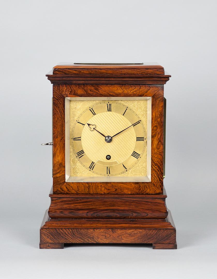 Pleasant Rosewood Mantel Clock Walker And Jones Of Sydney And London Door Handles Collection Olytizonderlifede